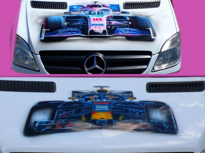 F1 sur sprinter