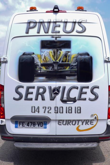 pneus services