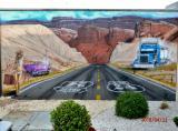 route 24 dans Utah format :3m85 x 2m