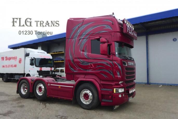 Scania double éssieu
