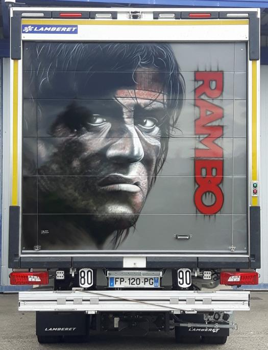 Rambo 4 arriere porteur
