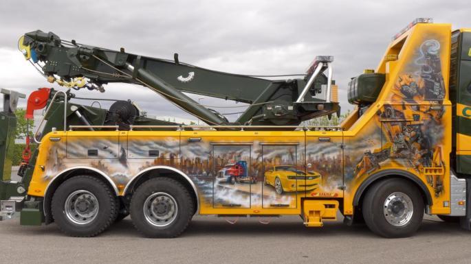 transformers Volvo 8x4